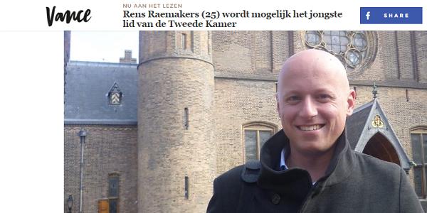 Rens Raemakers interview vance
